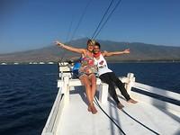 Ik met Lana (van Wanua travel)