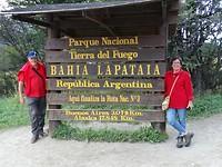Einde RN 3 en Pan American Highway