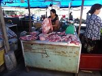 Op de centrale markt