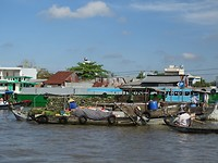 Drijvende markt Cao Rang