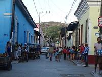 Straat centrum Trinidad