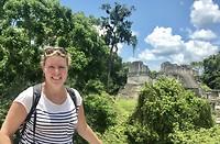 Sannie bij Tikal