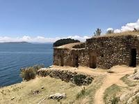 Inca ruins on Isla del sol