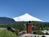 Uitzicht op Villarrica vanuit Pucón