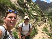 Cafayate - hike naar cascade