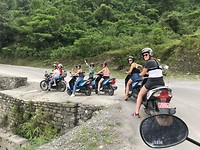 Motor bende van Nepal 😋
