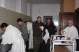 Afwassen in de Abdij van Leffe