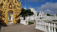 Witte tempel (en een hoop goudkleur)