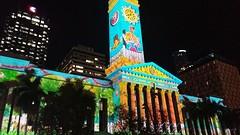 Brisbane - Verlicht King George Square