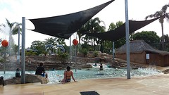 Yamba - Zwemmen op de camping
