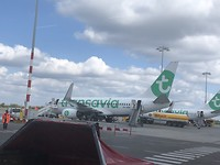 Vertrek vanaf Rotterdam The Hague Airport