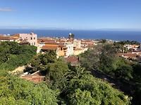 Uitzicht op Puerto de la Cruz vanuit La Orotava