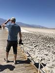 Bad Water in Death Valley, 80 meter onder zeespiegel