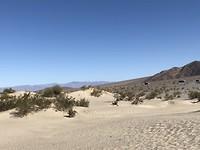Mesquite Dunes, zandduinen in Death Valley NP