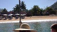 De prachtige stranden van Yelapa