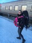 Aankomst in Irkutsk