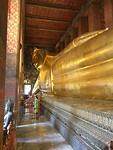 Bangkok - reclining Boeddha Wat Pho tempel