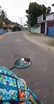 Op de scooter door onbewoond Jaffna