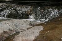 Kleine watervalletjes.