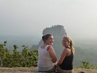 Op de top van de Pidurangala rock - Sigiriya