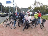 20 juli fietstocht Buenos Aires