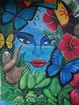Pura Vida, schilderkunst in Costa Rica