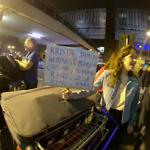 verwelkoming in Lima