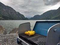 BBQ op de camping in Odda