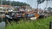 Enkhuizen, Oosterhaven. Ligplaats Herbert