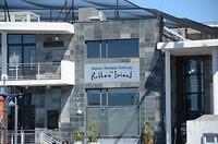 Terminal van de schepen die naar Robbeneiland varen