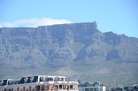 Tafelberg gezien vanuit V&A Waterfront