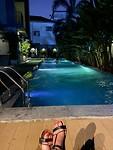 Zwembad hotel Bangkok