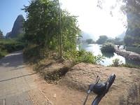 Lekker langs de rivier!