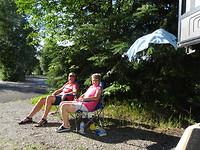 Camping fairbanks, verjaardags kado: zon