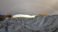 Boven op de Flalljökull