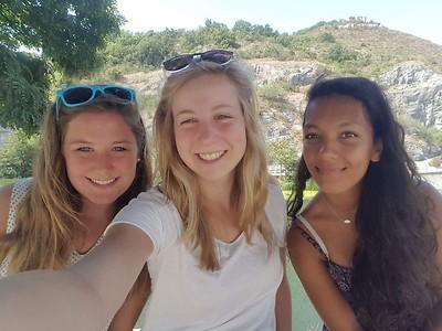 Ditte, Eline en Yva