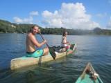 Kano avontuur op het meer bij Flores