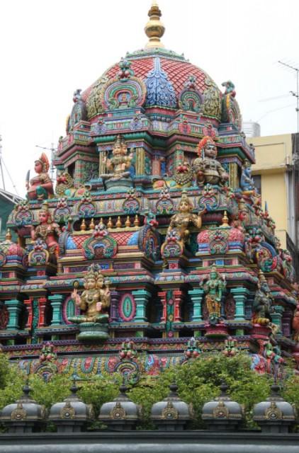 140 Hindoe 239 Stische Tempel In Bangkok Foto Stanny