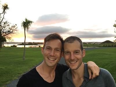Stefan en Mick