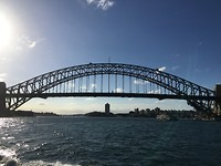 Sydney Harbour Bridge vanaf de Ferry