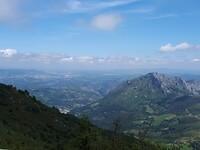 Uitzicht op Oviedo