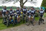 LWC-ers die het eerste gedeelte meefietsen tot Zwilbrock