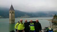 Onze eerste groepsfoto in Italië.