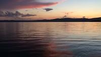Zonsondergang op het Lago di Bracciano