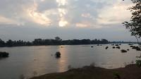 Zonsopkomst aan de Mekong