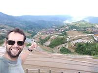 Ik en de rijstvelden