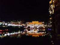 De oude brug by night