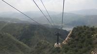 Het uitzicht vanuit de kabelbaan
