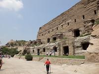 Verschillende grotten, 1500 jaar oud