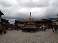 Centrale plein in Shangrila